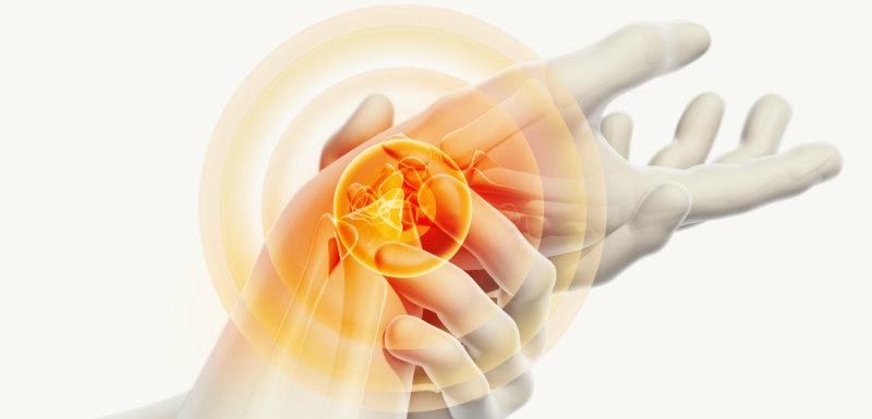prise en charge de la douleur articulaire au poignet